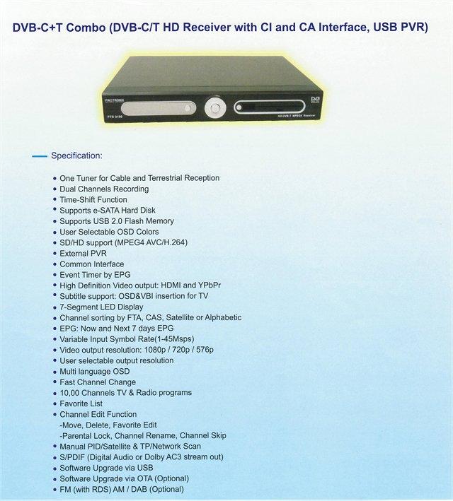 HD DVB-C+T