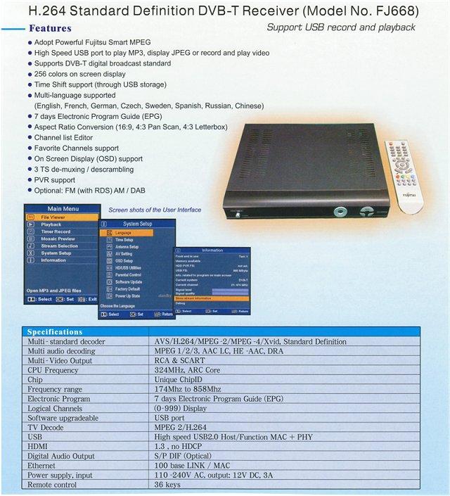 DVB-T Receiver